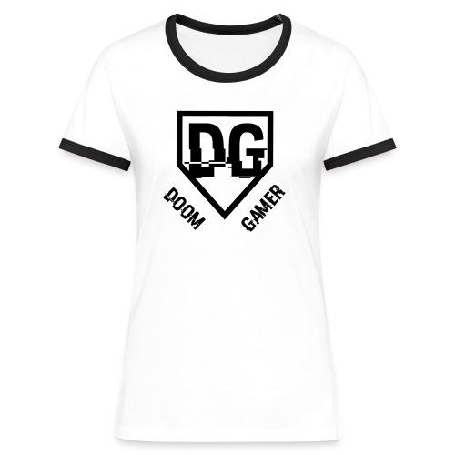 Doomgamer galaxy s5 hoesje - Vrouwen contrastshirt