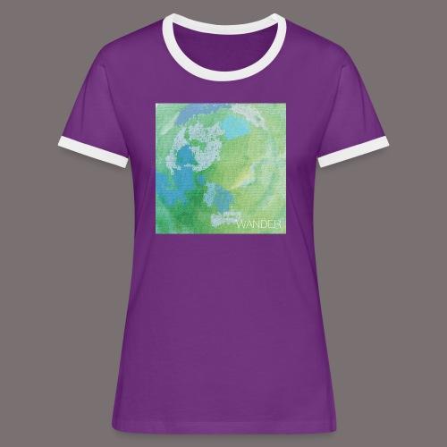 Wander - Frauen Kontrast-T-Shirt