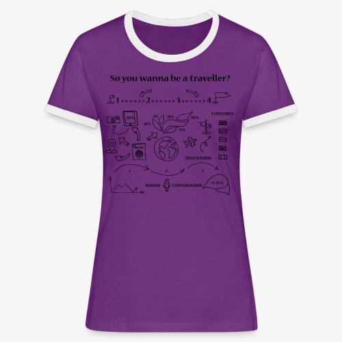 nomad - Women's Ringer T-Shirt
