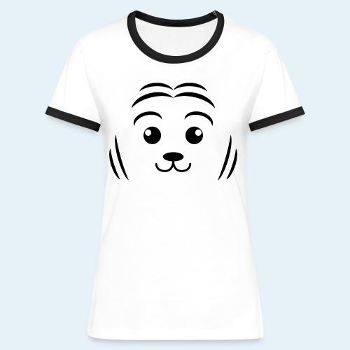 Cachorro de tigre (Cachorros) - Camiseta contraste mujer