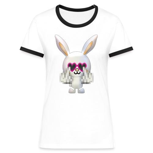 Lapin F*** - T-shirt contrasté Femme