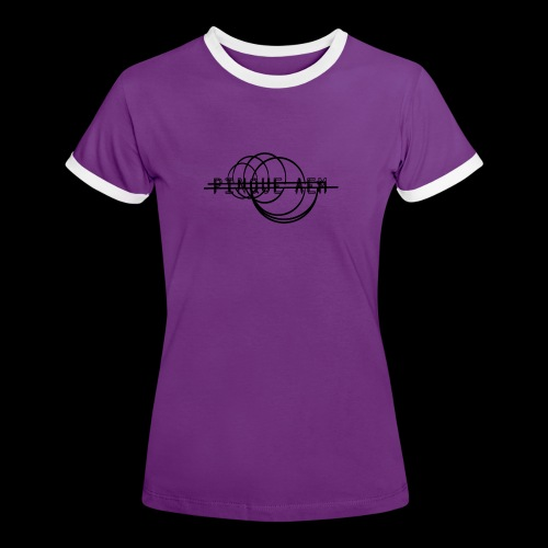 Pinque AEM NERO - Maglietta Contrast da donna