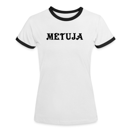 logospreadshirtmetuja - Naisten kontrastipaita