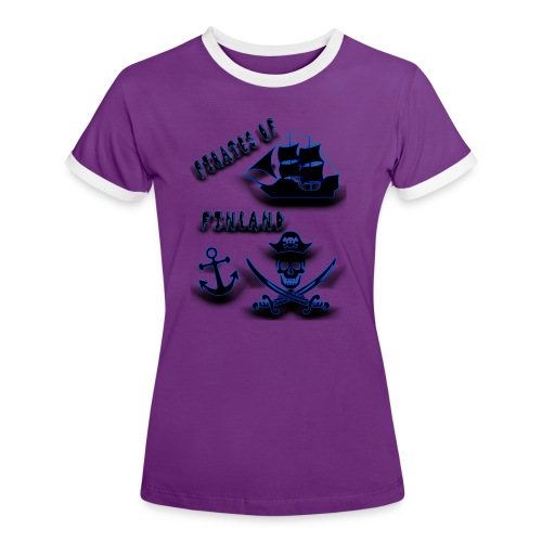 Pirates - Naisten kontrastipaita
