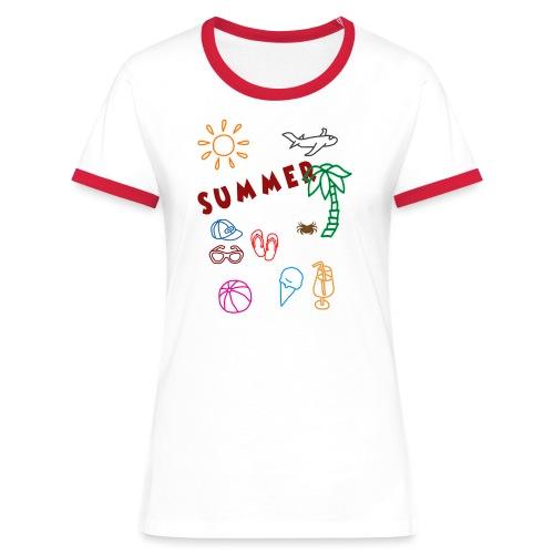 Summer - Naisten kontrastipaita