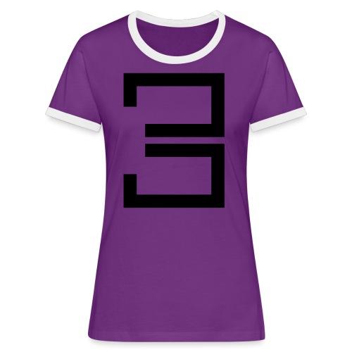 3 - Women's Ringer T-Shirt