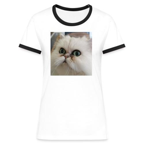 fionaisshocked - Frauen Kontrast-T-Shirt