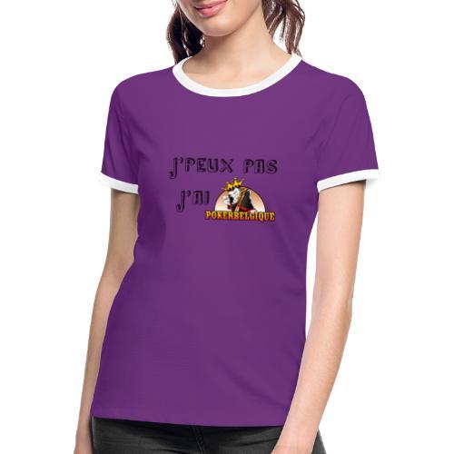 J'peux pas j'ai PB - T-shirt contrasté Femme
