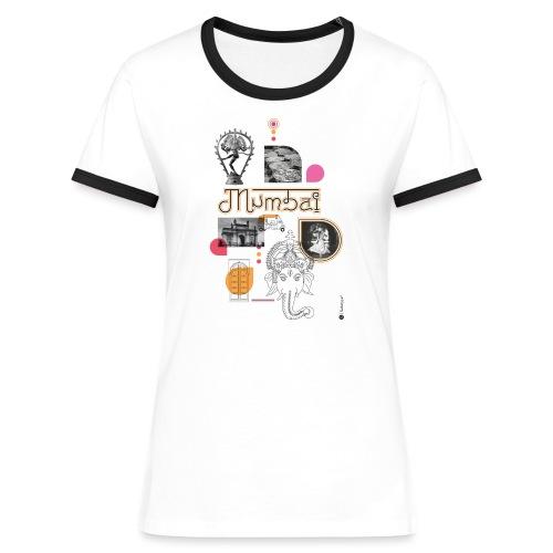 MUMBAI - T-shirt contrasté Femme