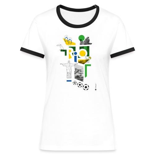 RIO - T-shirt contrasté Femme