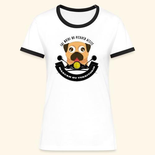 Territorio Perruno - Camiseta contraste mujer