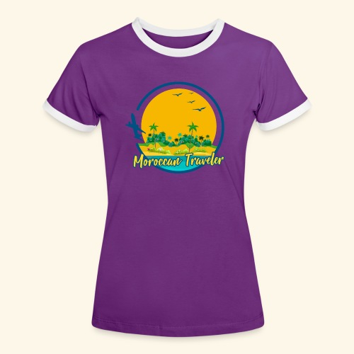 Moroccan Traveler - T-shirt contrasté Femme