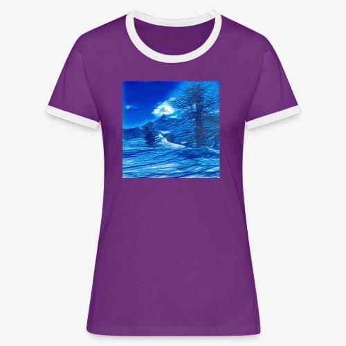 Magia dei Monti della Luna - Maglietta Contrast da donna
