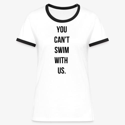 swim - T-shirt contrasté Femme