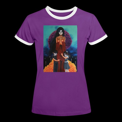 los fieles difuntos - Women's Ringer T-Shirt