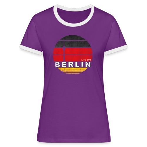 BERLIN, Germany, Deutschland - Women's Ringer T-Shirt