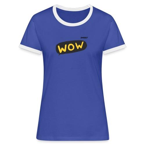 WoW Shirt - Women's Ringer T-Shirt