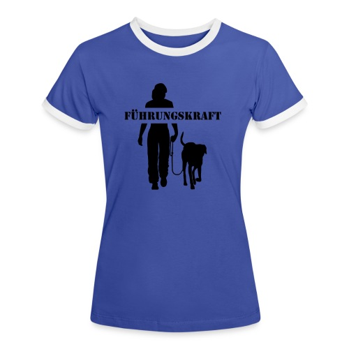 Vorschau: Führungskraft female - Frauen Kontrast-T-Shirt