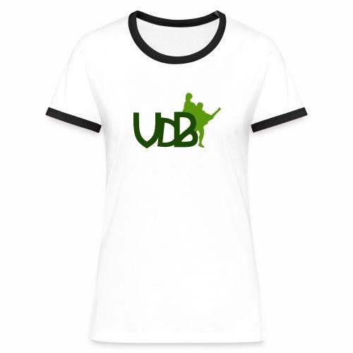 VdB green - Maglietta Contrast da donna