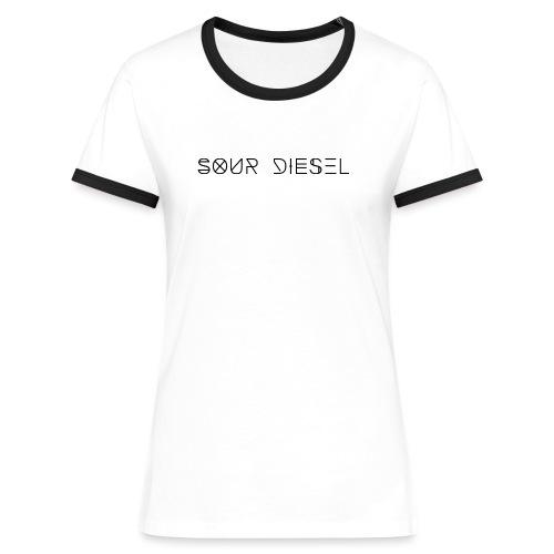 Sour Diesel - T-shirt contrasté Femme