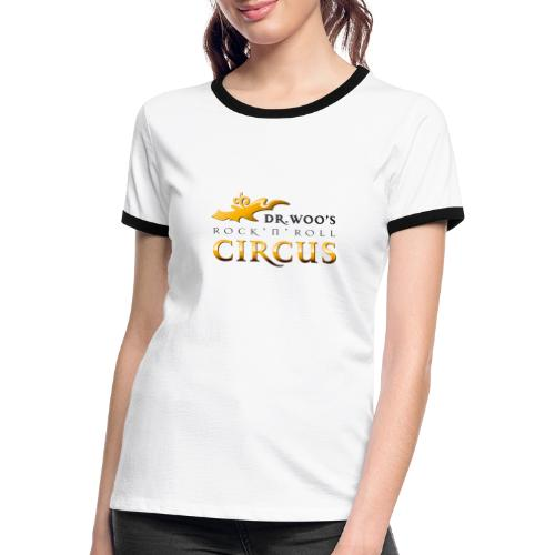 Dr Woo T Shirt png - Frauen Kontrast-T-Shirt