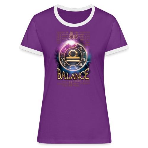 BALANCE - T-shirt contrasté Femme