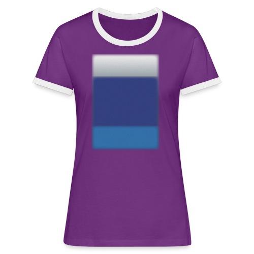 Background @BGgraphic - Dame kontrast-T-shirt