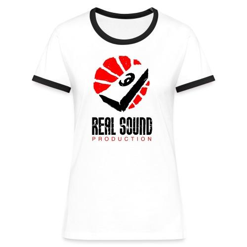 RSP Logo - T-shirt contrasté Femme