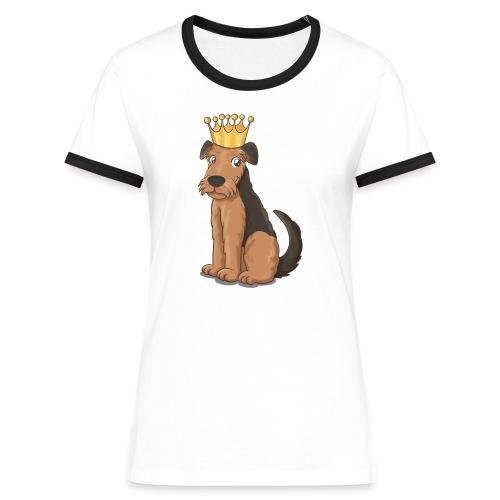 The KING of Terriers - Women's Ringer T-Shirt