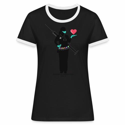 Nuestras Heroinas. - Camiseta contraste mujer