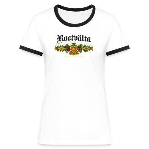 Elastiskt iPhone 6/6s-skal - Kontrast-T-shirt dam