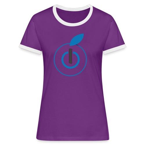 Logo AZ - Maglietta Contrast da donna