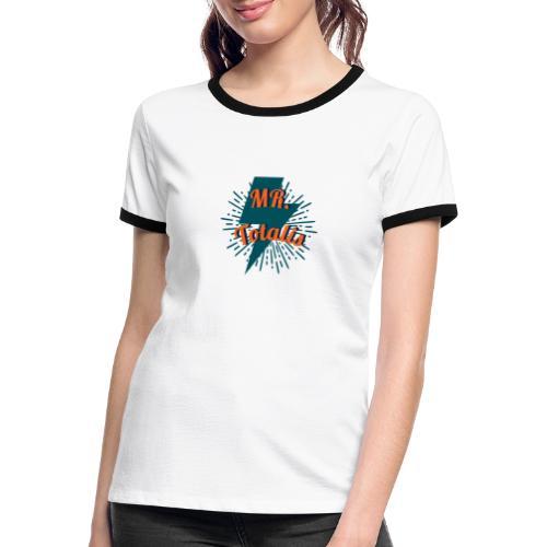 Esempio Logo o Stampa! - Maglietta Contrast da donna