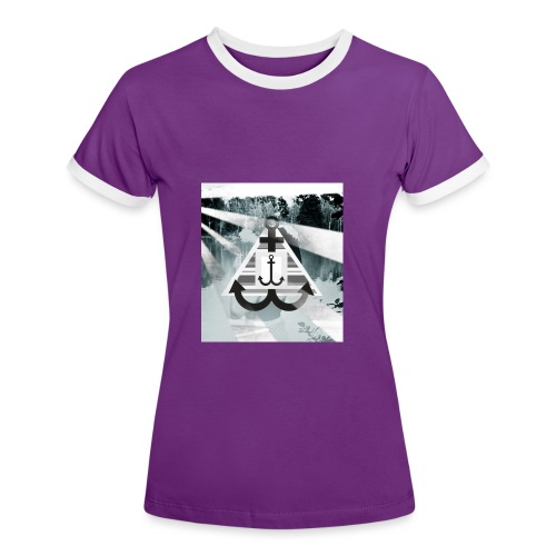 See-Anker - Frauen Kontrast-T-Shirt
