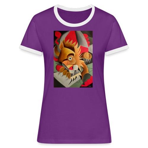 leone - Maglietta Contrast da donna