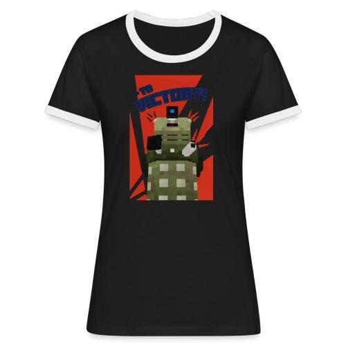 Dalek Mod - To Victory - Women's Ringer T-Shirt