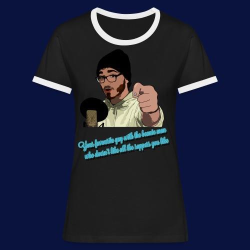 Your Favourite Beanie Man - Women's Ringer T-Shirt