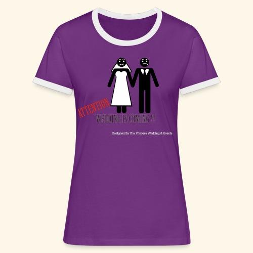 SPOSI - Maglietta Contrast da donna