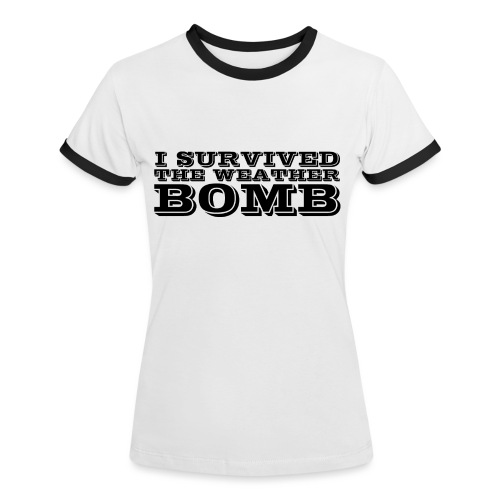 Weather Bomb - Women's Ringer T-Shirt