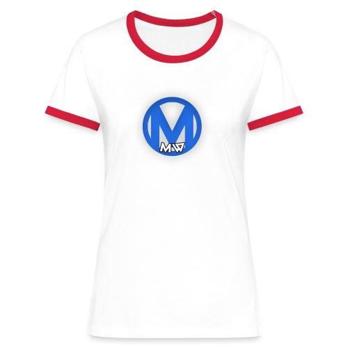 MWVIDEOS KLEDING - Vrouwen contrastshirt