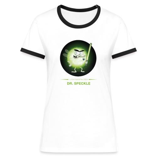 Dr. Speckle - Frauen Kontrast-T-Shirt