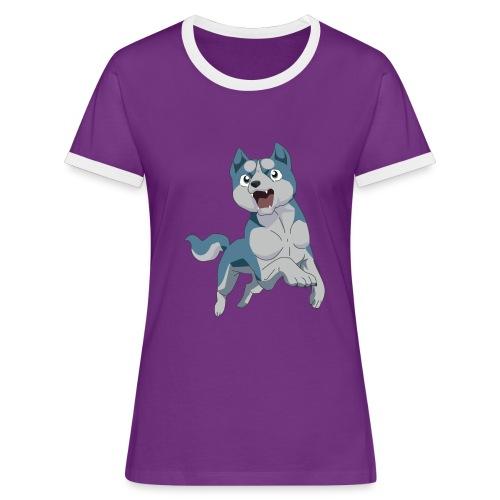 ginga weed - Women's Ringer T-Shirt