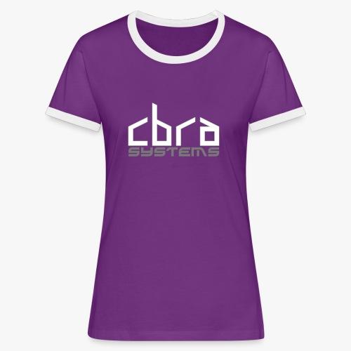 logo cbrasystems - Women's Ringer T-Shirt