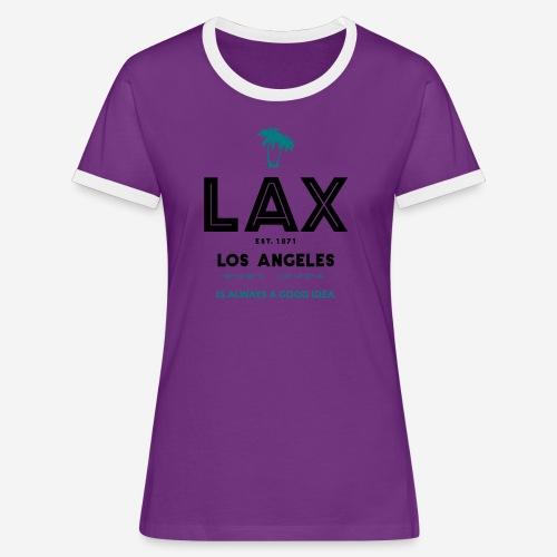LAX è una buona idea!! - Maglietta Contrast da donna