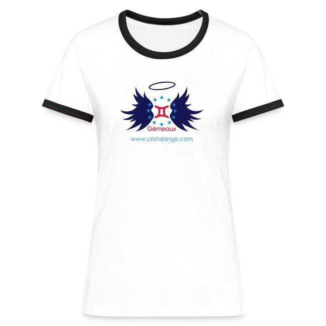 70 Kontrast T shirt dam | Spreadshirt