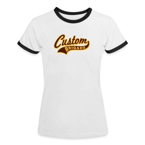 college3 - T-shirt contrasté Femme