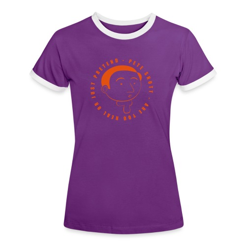 Pete Snott - Women's Ringer T-Shirt
