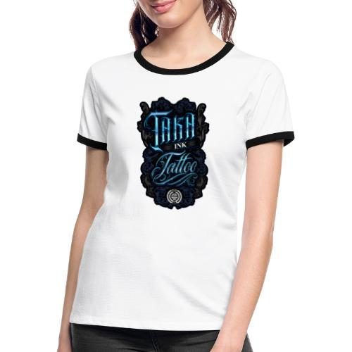 Taka Ink Tattoo - T-shirt contrasté Femme