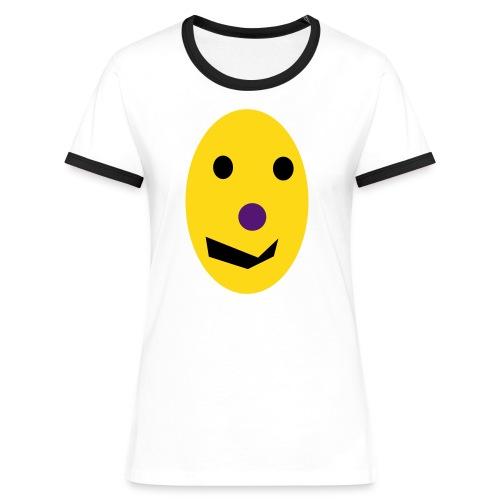 EI,EI,EI - Frauen Kontrast-T-Shirt