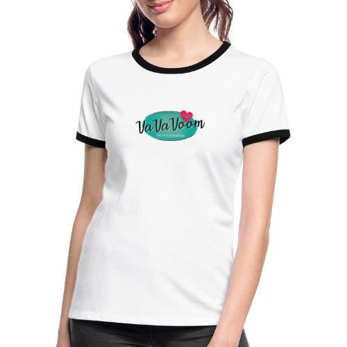 vavavoom logo 330v760 - Dame kontrast-T-shirt